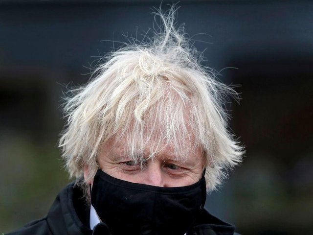 Boris Johnson is due to lead a coronavirus press conference on Monday