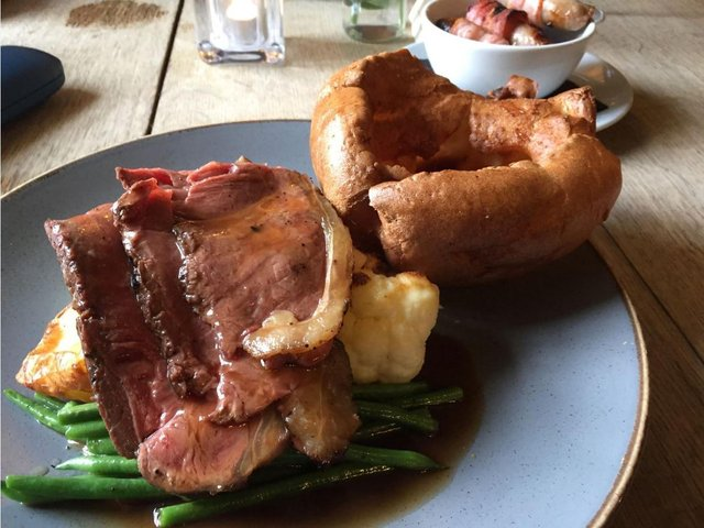 The Sunday lunch