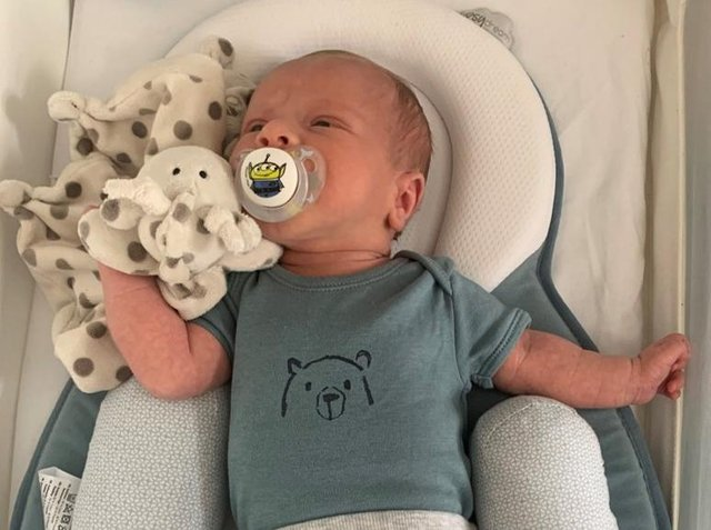 Two-week-old baby, Ciaran Leigh Morris, who tragically died after his pram was hit by a car on Easter Sunday