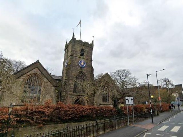 St. Laurence's Church on Union Street where CAP Chorley is based