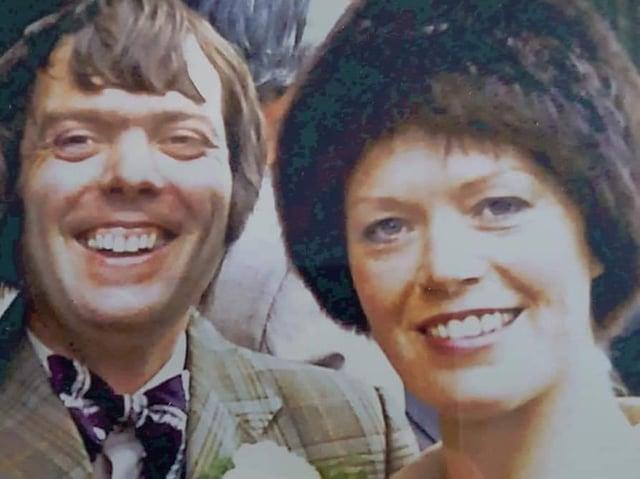 Dentist Michael Hamer and his wife, Sandra.
