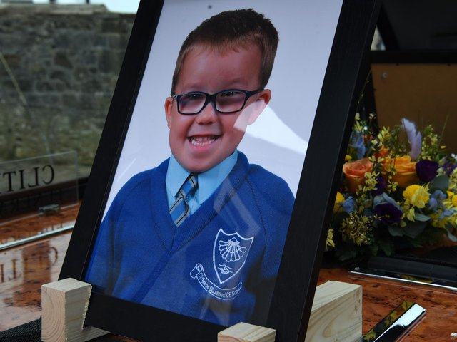 George Spencer, the four-year-old twin boy who died suddenly on Friday March 19th