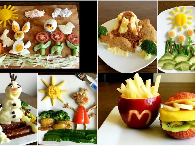 Michael Weeks has been mastering the art of food presentation
