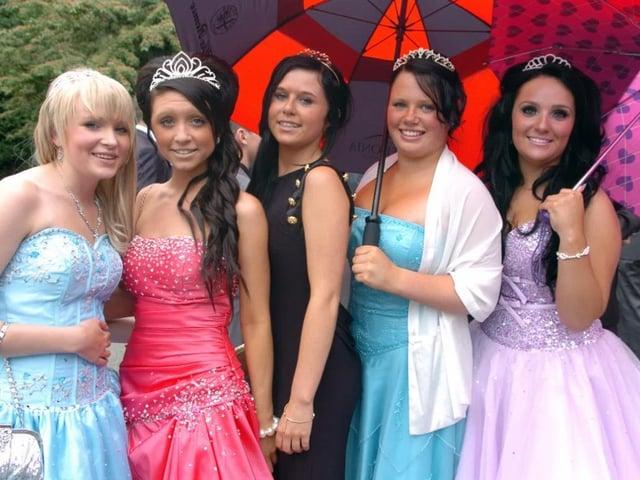 Abigail Davidson, Laura Hutchinson, Katie Gordon, Gemma Handyside and Nicole Broome