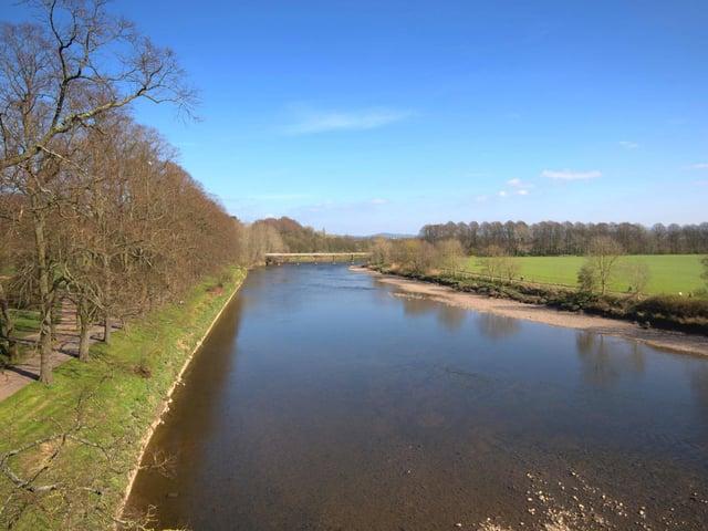 River Ribble at Avenham Park, Preston. PHOTO: Tony Worrall Photography