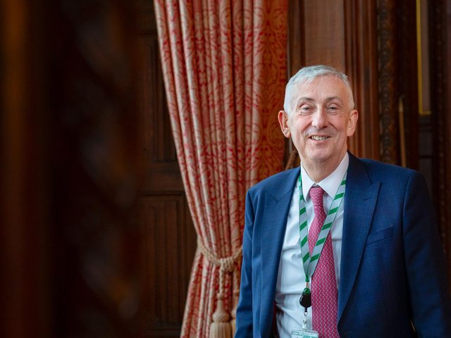 Sir Lindsay Hoyle, Chorley MP and Speaker of the House of Commons. Photo by: Roger Harris/ UK Parliament.