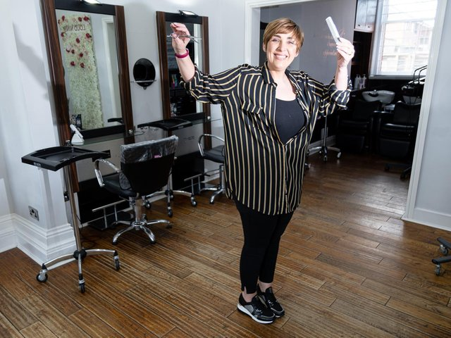 """The salon is booked up till the middle of May with people desperate for grooming, but Nicola and her staff won't be working extra hours like they did after the first lockdown. Owner Nicola said: """"We found it's not worth it. What happens is, you get two or three weeks of it being crazy, then a period of nothing."""""""