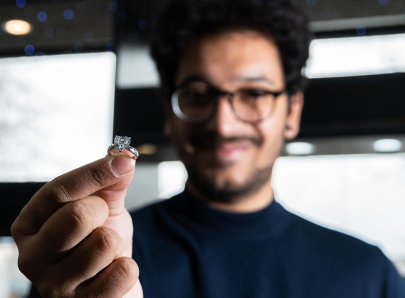 "Prem says his jewellery collection caters for ""as cheap as you want to go or as expensive as you want to go"", with a special interest in diamonds."