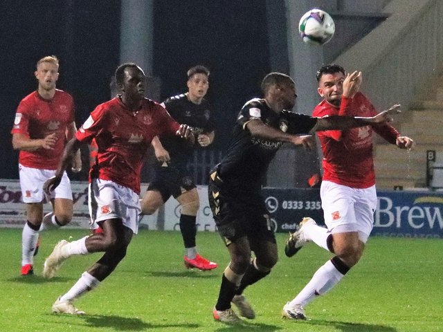 Morecambe are due to meet Oldham Athletic next Saturday