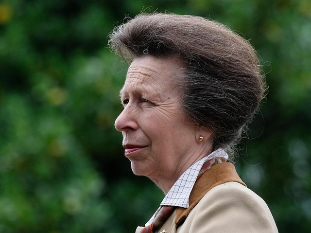 Princess Royal pays tribute to her father Prince Philip