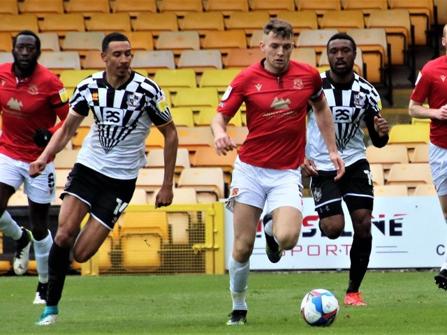 Morecambe lost at Port Vale on Saturday