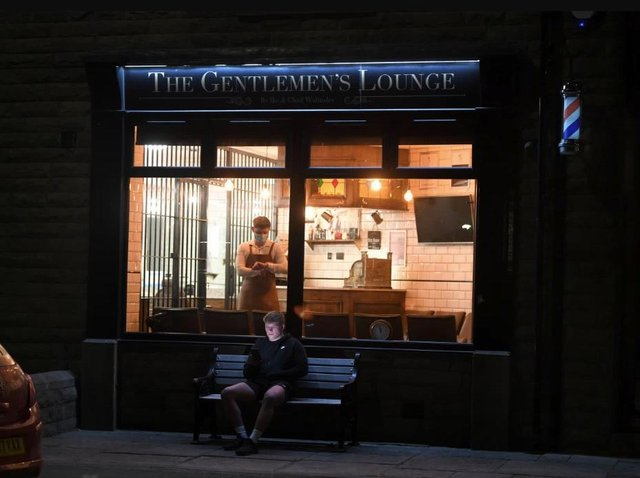 Ike Walmsley opened the Gentlemen's Lounge at midnight on April 12