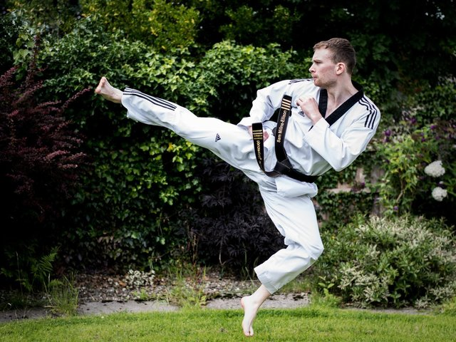 Sam Millne-Ellison of Kick-Kwondo