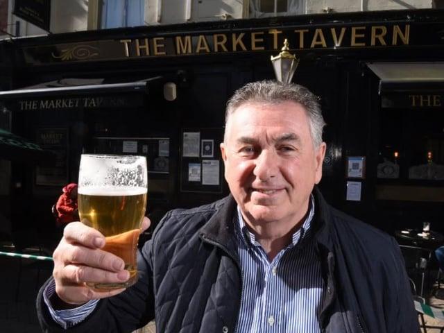 It's Monday, it's 10am and it has to be time for a pint.