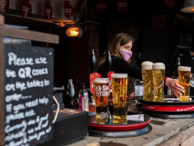 "Pub and hospitality bosses have said they will ""not get too excited"""