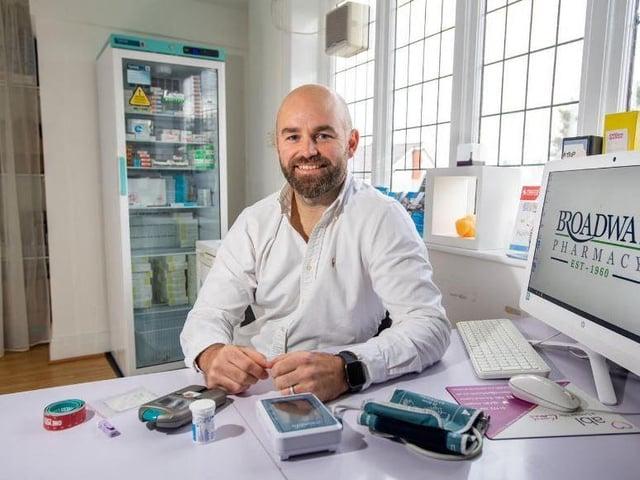 Lead Pharmacist at Broadway Michael Ball