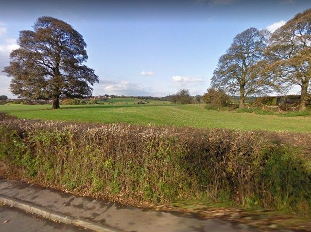 Land off Town Lane in Whittle-le-Woods, which one councillor said was the worst location he had ever seen to build 250 homes (image: Google)