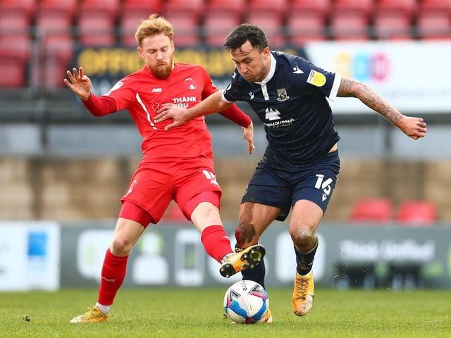 John O'Sullivan created three of Morecambe's four goals on Tuesday