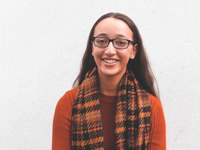 Zuleikha Chikh, president of UCLan Students' Union.