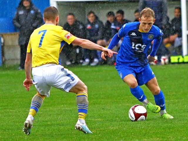 Lancaster City ace Charlie Bailey