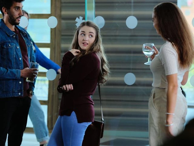 Actor Niamh stars in BBC Three's 'The Break' as partially sighted student May