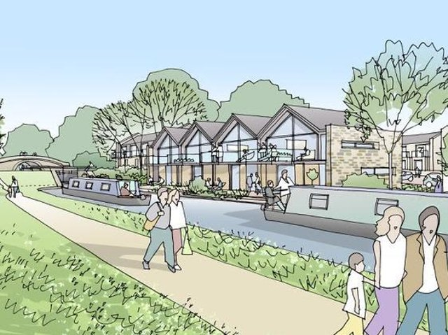 An artist's impression of how Ellel Holiday Village might look.