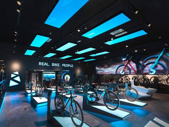Ribble Cycles' new flagship store.