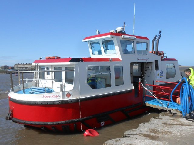 The Wyre Rose Fleetwood to Knott End ferry