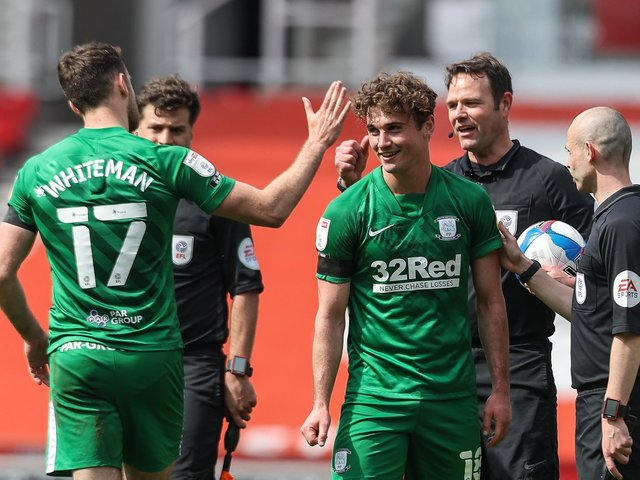 Greg Cunningham and Ryan Ledson after PNE's goalless draw at Stoke City