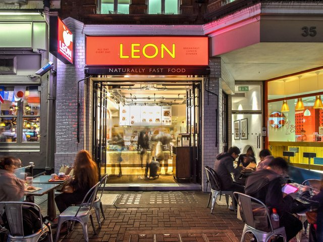 The Leon fast food outlet in London