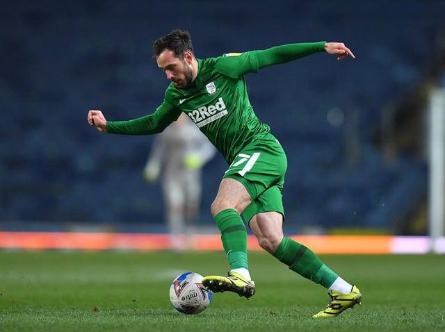 Preston North End defender Greg Cunningham