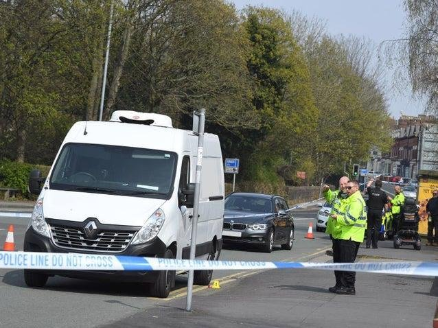 A Preston woman has been left with life-threatening injuries after she was knocked down and trapped under a van on Fishergate Hill yesterday (Tuesday, April 20)