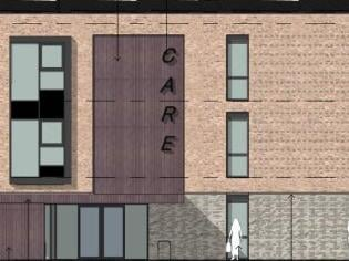 The provisional look of Garstang's new care home did not impress county councillors (image: PRP via Lancashire County Council planning portal)