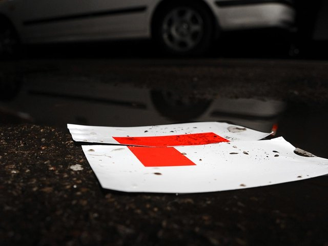 The pass rate for driving tests in Britain is just 46%