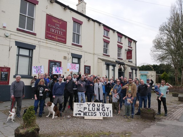 Locals are determined to keep the pub going