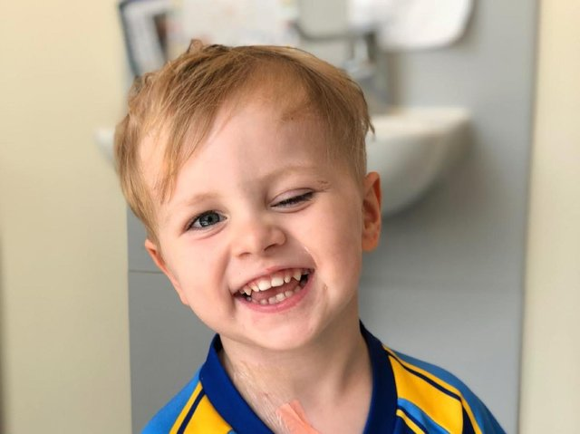 5-year-old Charlie Robinson, who was described as 'infectious and smiley'