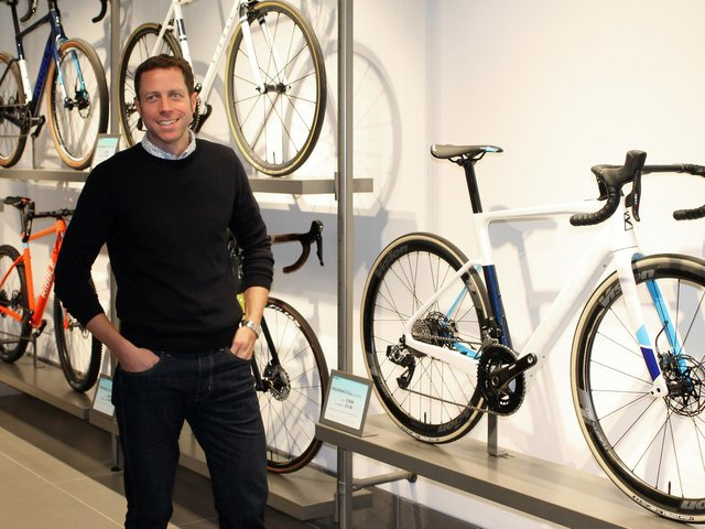 Andy Smallwood, CEO of Ribble Cycles