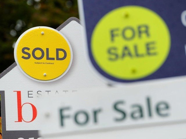 The average house price for every area in Preston