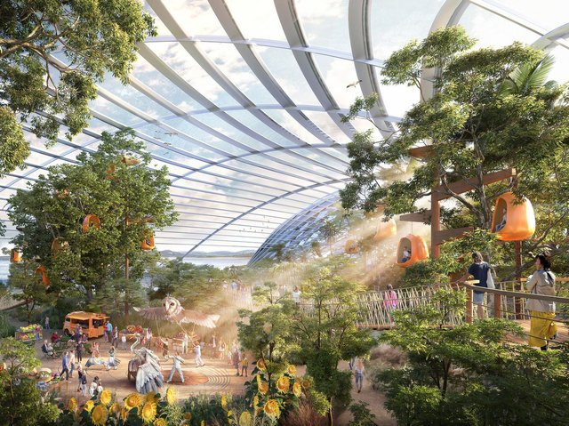 How the Eden Project North might look.