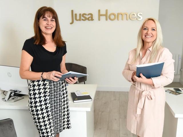 Julie Hardy and Sarah Temmen have set up Jusa Homes in Kirkham.