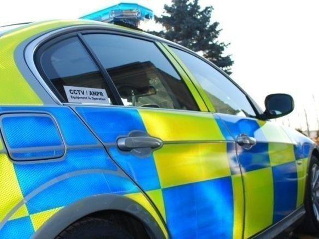 Police are trying to trace a Mercedes following a burglary in Longton