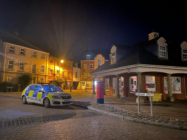 A busy night shift for Chorley Police
