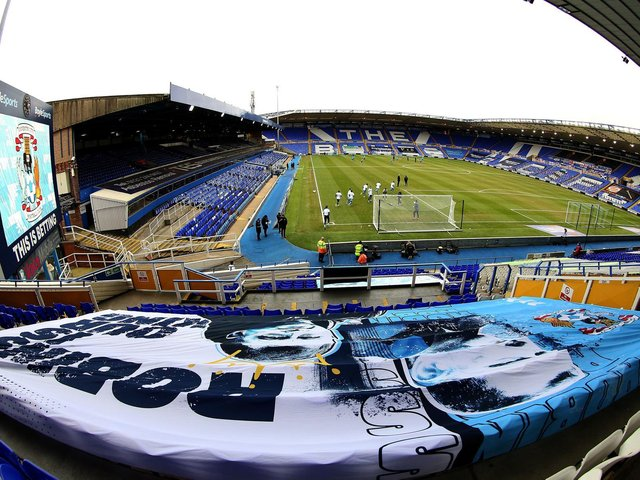 Coventry City's current home at St Andrews.