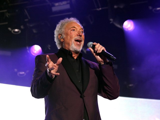 Tom Jones is one of more than 30 acts on the bill for Wonderhall