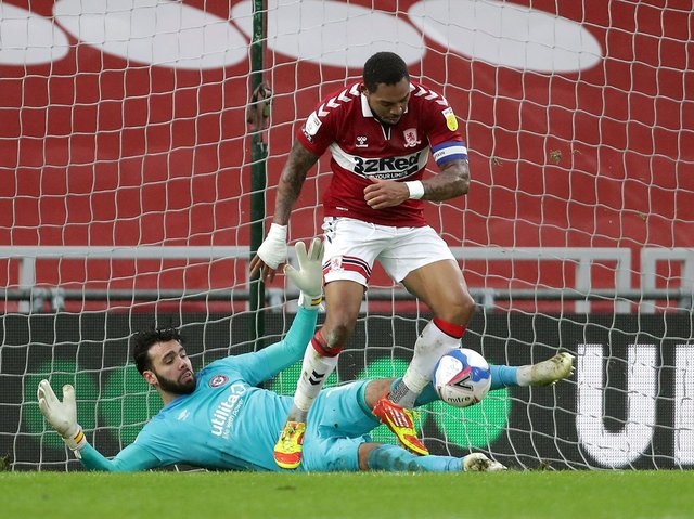 Middlesbrough have released striker Britt Assombalonga