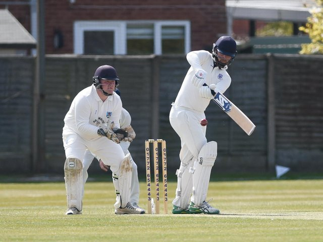 Match action from Lancaster's game at St Annes