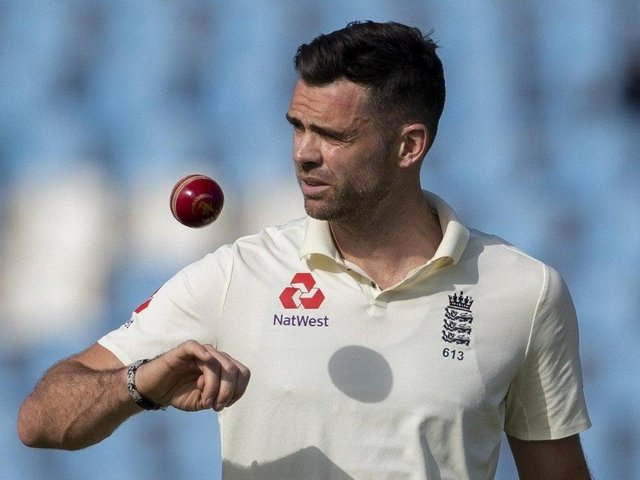 England and Lancashire pace bowler Jimmy Anderson, who is from Burnley