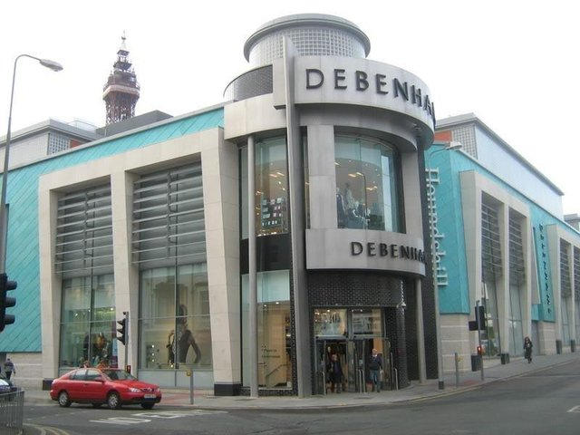 Debenhams in the Houndshill Shopping Centre, Blackpool