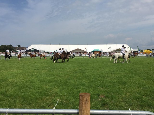 The Garstang Show in 2019. The show is set to return this summer, with hopes that major restrictions will have been lifted.