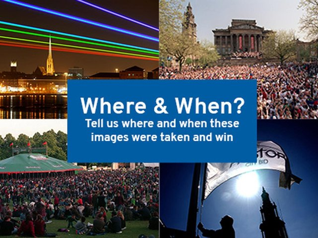 Welcome to our 'Where and When' image competition